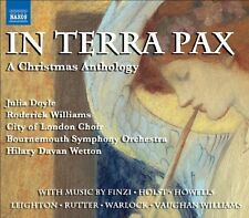 Roderick Williams - In Terra Pax: A Christmas Anthology [New CD]