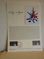 Premier jour * Fiche Musée postal * Charles de Gaulle