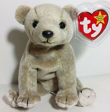 "TY Beanie Babies ""ALMOND"" the Bear - MWMTs! CHECK OUT MY BEANIES! GREAT GIFT!"