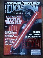LUCASFILM MAGAZINE STAR WARS FILMS SCIENCE FICTION N° 49 SEPT/OCT 2004