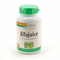 Solaray Alfajuice Alfalfa Juice - 180 Capsules