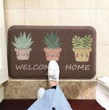 Door Dust Removal Carpet Wire Mat Kitchen Bathroom Non-slip Entrance Doormat 1X