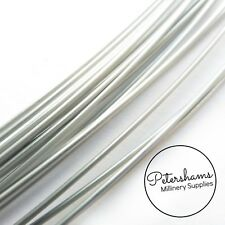 917c7eeb2b5 Sprung Silver Millinery Wire for Brims   Hat Making 0.9mm -1m