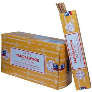 Sandalwood Bulk Pack 12 Packs - Plus Free incense burner