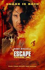 "John Carpenter's Escape From L.A. movie poster (b) 11"" x 17"" Kurt Russell poster"
