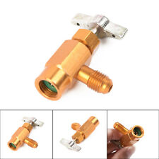 Car AC Air Conditioner Refrigerant R134A Converting Valve Bottle Opener Adapter