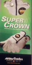 ALLSTAR FOWNES SUPER CROWN RAIN AND MOISTURE RESISTANT MEN'S GOLF GLOVE SM RH