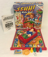 Sshh! Don't Wake Dad! Electronic Board Game TOMY 100% Complete Working