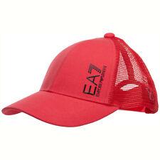 Emporio Armani EA7 cappello baseball uomo 2758620P83507575 rosso POPPY RED