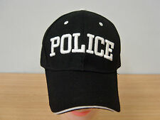 Black Police Caps Baseball Caps Hats Party All Occasions