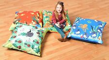 Nursery Equipment: set of 4 large indoor/outdoor cushions, (F9004)