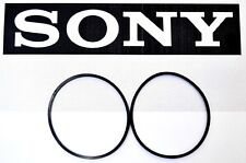 SONY CDP-CX333ES 300 CD Changer Player 2 Belt Set Carousel & CD Loading Belts