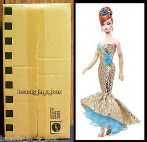 Holiday Hostess Happy New Year Barbie Collector Doll Mattel SHIPPER Gold Label