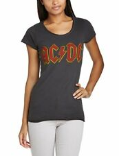 Official Femmes Charbon Ac/dc T-shirt Logo de Amplified XL