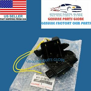 GENUINE TOYOTA SCION RAV4 HIGHLANDER PRIUS V xB xD iQ BACK DOOR LOCK 69350-28151