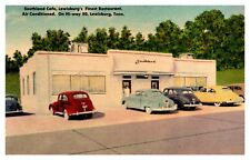 Southland Cafe Lewisburg Tennessee Linen Postcard