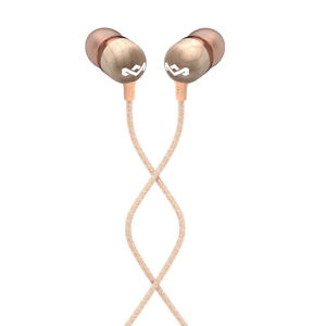 House Of Marley EM-JE041-CPB Smile Jamaica Wood In-Ear Headset Earphones w/ Mic