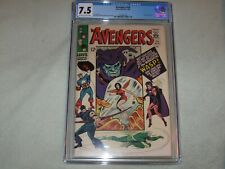 Avengers # 26 CGC VF- 7.5 Attuma Appearance