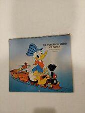 Vintage Hallmark 1974 Wonderful World Of Disney Engagement Calendar