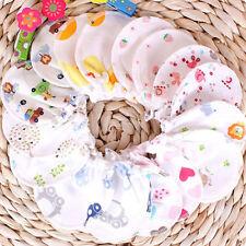 Baby Soft Cotton born Infant Anti Scratch Mittens Gloves Boy Girl Hand guard QA
