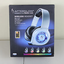 PDP PL9930WPC Gaming Afterglow Prismatic Wireless Travel Case Headset Wii U XBox