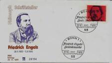 BRD FDC MiNr 657 (4) 150. Geburtstag von Friedrich Engels -Publizist-Sozialist-