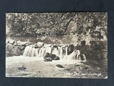 Vintage Postcard - Devon #A65 - RP Lustleigh, Weir Pool - 1920 Friths