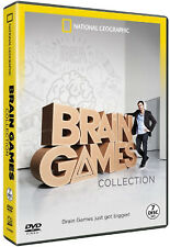 National Geographic - Brain Games Collection - 7 DVD BOXSET - BRAND NEW SEALED