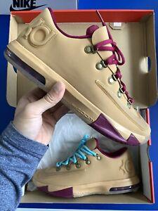 Nike Kevin Durant KD 6 VI EXT Gum Brown Raspberry Quickstrike New Deadstock
