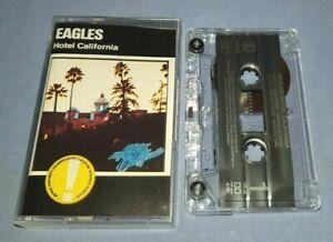 EAGLES HOTEL CALIFORNIA cassette tape album A1587