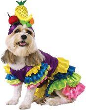 Brazilian Bombshell Dog Costume - MEDIUM - Carmen Miranda - Dress Headpiece -NWT