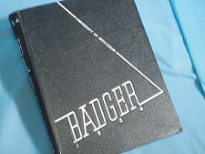 1954 University Of Wisconsin Badger Yearbook Madison
