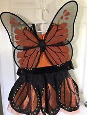 Gymboree Monarch Butterfly Halloween Costume Tutu Dress Size Large 10-12