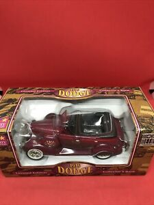 1936 Dodge Limited Edition Die-Cast Metal Collector Bank Car Liberty Classic NEW