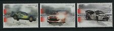 Norway Stamps 2007 Sg 1632-1634 Motor Sport Winter Rally Unmounted Mint Mnh