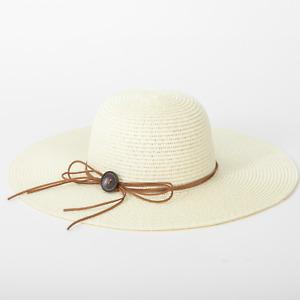Women Ladies Summer Wide Brim Straw Hat Floppy Derby Beach Sun Foldable Cap