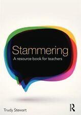 STAMMERING - STEWART, TRUDY - NEW PAPERBACK BOOK