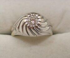 Diamond 14Carat White Gold Men's Jewellery