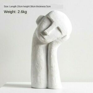 Nordic Pensive Boy And Feet Statue Figurine Tabletop Home Office Decoration Art