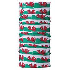 Original Buff Balaclava Neck Tube Snood Warmer Cymru Red Dragon Wales Welsh Flag