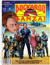 MARVEL SUPER SPECIAL #33 BUCKAROO BANZAI in VF condition movie magazine comic