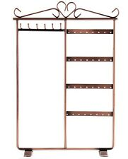 EARRING STAND 32 HOLE RACK JEWELERY HOLDER METAL NECKLACE DISPLAY HANGER STRONG