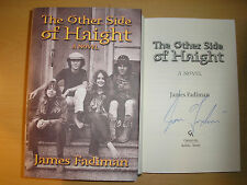 JAMES FADIMAN - THE OTHER SIDE OF HAIGHT  HB/DJ    1st/1st  2001  SIGNED