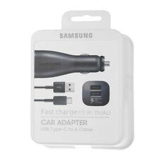 Original Samsung Dual USB-C KFZ Ladegerät Ladekabel EP-LN920 Galaxy S8 S9 Note 9