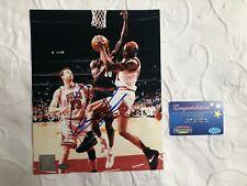 Dennis Rodman Signed 8x10 Mounted Memories COA Chicago Bulls NBA