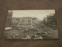 Early Postcard - Lovely scene - Piccadily Circus London