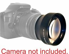 2.2x HD Telephoto Zoom Lens for 52MM Nikon D3200 D3100 D3000 D5100 D5000 D7000