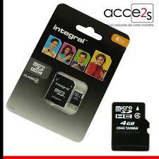 Cartes mémoire microsdhc pour téléphone mobile et assistant personnel (PDA) classe 4, 4 Go