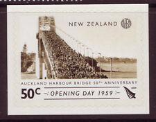 Nueva Zelanda 2009 50º Aniversario Aukland Harbour Bridge um, Mnh.