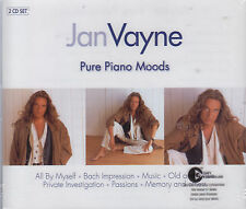 Pure Piano Moods by Jan Vayne (2 CDs, 2004 EMI Netherlands) Dutch Trance Pianist